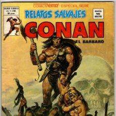Cómics: RELATOS SALVAJES CONAN V1 Nº 83 (VERTICE 1980) PENULTIMO DE LA COLECCION.. Lote 295451428