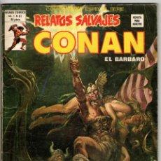 Cómics: RELATOS SALVAJES CONAN V1 Nº 81 (VERTICE 1980). Lote 295452938