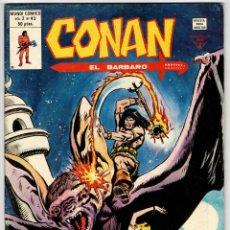 Cómics: CONAN V2 Nº 43 (VERTICE 1981) ULTIMO DE LA COLECCION.. Lote 295458918
