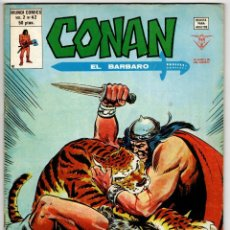 Cómics: CONAN V2 Nº 42 (VERTICE 1980). Lote 295459013