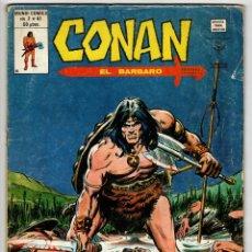 Cómics: CONAN V2 Nº 41 (VERTICE 1980). Lote 295459103