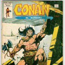 Cómics: CONAN V2 Nº 39 (VERTICE 1980). Lote 295459288