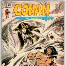 Cómics: CONAN V2 Nº 36 (VERTICE 1980). Lote 295459423