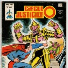Cómics: CIRCULO JUSTICIERO Nº 15 (VERTICE 1980) ULTIMO DE LA COLECCION.. Lote 295460918