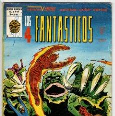 Cómics: 4 FANTASTICOS V3 Nº 30 (VERTICE 1980). Lote 295462003