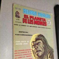 Cómics: RELATOS SALVAJES VOL. 1 Nº 2: EL PLANETA DE LOS MONOS / VÉRTICE 40 PTAS.. Lote 295508458