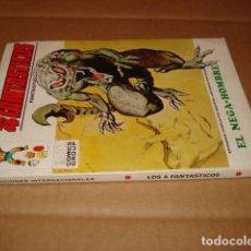 Cómics: LOS 4 FANTÁSTICOS 54: EL NEGA-HOMBRE, 1973, VERTICE, MUY BUEN ESTADO. Lote 295528978