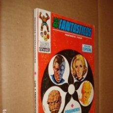 Cómics: LOS 4 FANTÁSTICOS 4: PRISIONEROS DEL PLANETA X, 1969, VERTICE, MUY BUEN ESTADO. Lote 295711033