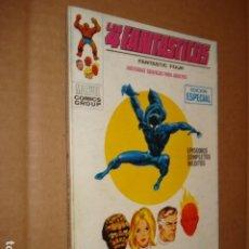 Cómics: LOS 4 FANTÁSTICOS 25: APARECE LA PANTERA NEGRA, 1971, VERTICE, MUY BUEN ESTADO. Lote 295711868