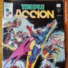 Cómics: TRIPLE ACCION (LOS DEFENSORES) Nº 17 - VERTICE. Lote 295924163