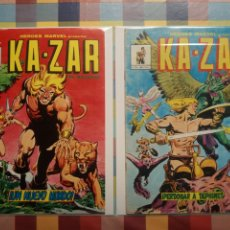 Cómics: HÉROES MARVEL: KA-ZAR N°2, 3 -MUNDICOMICS-. Lote 295939743