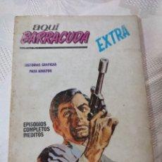 Cómics: AQUÍ BARRACUDA EXTRA NÚMERO 3 PAGADO CON LA MUERTE VÉRTICE COMIC. Lote 296616478