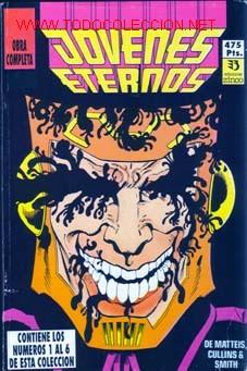 JOVENES ETERNOS. OBRA COMPLETA (Tebeos y Comics - Zinco - Retapados)