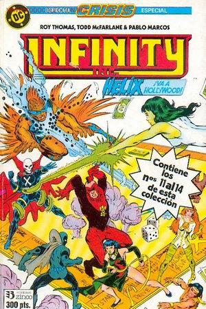 INFINITY INC. Nº 11 AL 14 (Tebeos y Comics - Zinco - Infinity Inc)