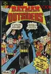 BATMAN Y LOS OUTSIDERS Nº 2, 3, 4, 5 (Tebeos y Comics - Zinco - Batman)