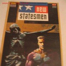 Cómics: NEW STATESMEN, LOS NUEVOS DIOSES. Nº 2 DE 5. NORMA EDITORIAL. EDICIONES ZINCO . Lote 23918294