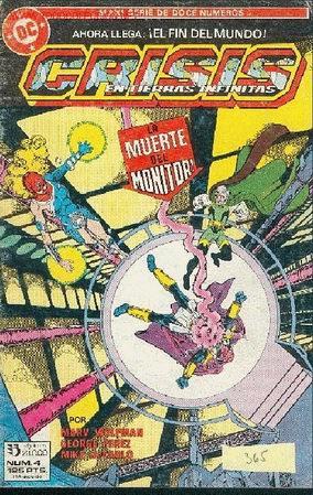 CRISIS EN TIERRAS INFINITAS Nº 4 (Tebeos y Comics - Zinco - Otros)
