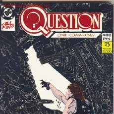 Cómics: QUESTION RETAPADO Nº7. Lote 27161174
