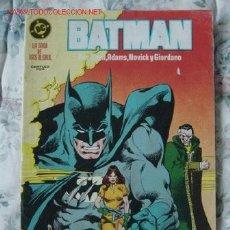 Cómics: BATMAN # 19. EDITORIAL ZINCO. POSIBILIDAD DE AGRUPAR LOTES APLICANDO DESCUENTOS.. Lote 27309456