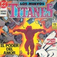 Comics: LOS NUEVOS TITANES Nº 25. Lote 734719