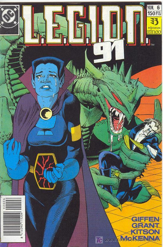 L.E.G.I.O.N. 91 Nº 6 (Tebeos y Comics - Zinco - Legión 91)