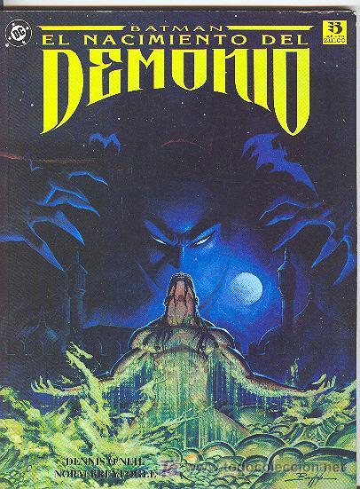 BATMAN: EL NACIMIENTO DEL DEMONIO (Tebeos y Comics - Zinco - Batman)
