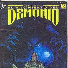 Cómics: BATMAN: EL NACIMIENTO DEL DEMONIO. Lote 26856202