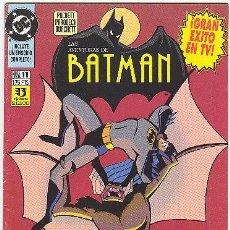 Cómics: AVENTURAS DE BATMAN Nº 11. Lote 21318839