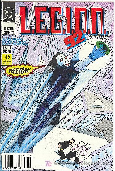 L.E.G.I.O.N. 92 Nº 11 (Tebeos y Comics - Zinco - Legión 91)