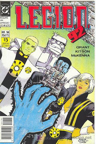 L.E.G.I.O.N. 92 Nº 14 (Tebeos y Comics - Zinco - Legión 91)