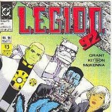 Cómics: L.E.G.I.O.N. 92 Nº 14. Lote 3767920