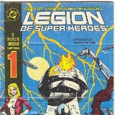 Cómics: LEGION DE SUPER-HEROES Nº 1. Lote 22302527