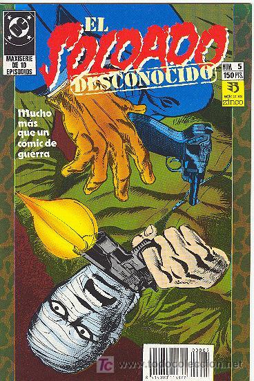 EL SOLDADO DESCONOCIDO. Nº 5 (Tebeos y Comics - Zinco - Otros)