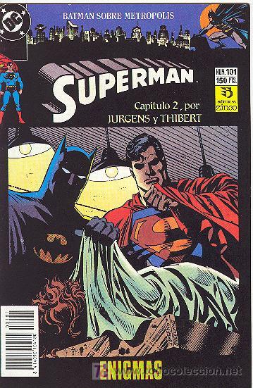 SUPERMAN Nº101 (Tebeos y Comics - Zinco - Superman)