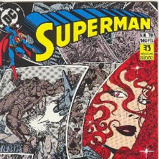 Cómics: SUPERMAN Nº 78. Lote 26026184