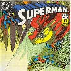 Cómics: SUPERMAN Nº 81. Lote 26026185