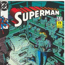 Cómics: SUPERMAN Nº 89. Lote 27443618