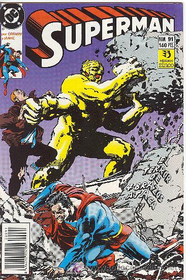 SUPERMAN Nº 91 (Tebeos y Comics - Zinco - Superman)