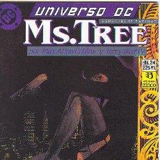 Cómics: UNIVERSO DC Nº 24 MS.TREE. Lote 27443614