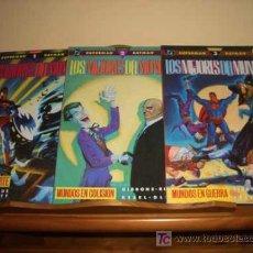 Cómics: SUPERMAN - BATMAN - LOS MEJORES DEL MUNDO . Lote 8004714