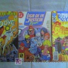 Cómics: NUMEROS UNO DE: LIGA DE LA JUSTICIA+JOVENES ETERNOS+HAWK Y DOVE. Lote 24026994