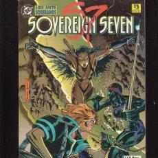 Cómics: LOS SIETE SOBERANOS - SOVEREIGN SEVEN / POR : CLAREMONT & DWAYNE TURNER. Lote 4858017