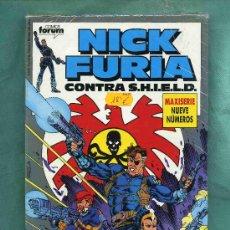 Cómics: COLECCION DE COMICS NICK FURIA CONTRA S.H.I.E.L.D. MAXISERIE DE 9 Nº. EDIT.FORUM. Lote 4783749