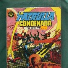 Cómics: COLECCION DE COMICS LA PATRULLA CONDENADA 16 NºS. EDIT. D.C.. Lote 4783900