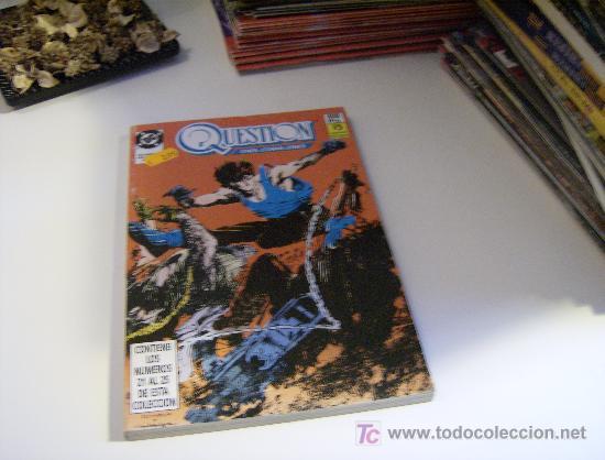 THE QUESTION. RETAPADO 21-25 (Tebeos y Comics - Zinco - Retapados)