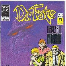 Cómics: DR. FATE Nº 3. Lote 21766303