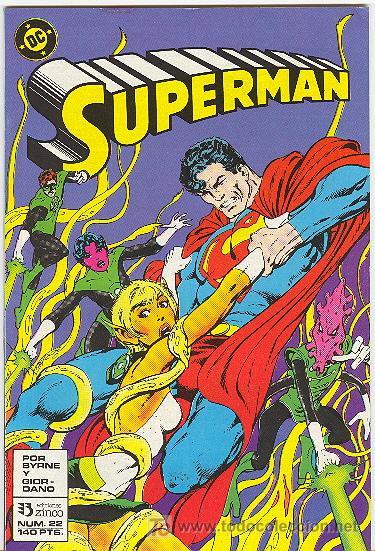 SUPERMAN Nº 22 , 1988 (Tebeos y Comics - Zinco - Superman)