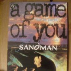 Cómics: SANDMAN: A GAME OF YOU. CUARTA PARTE. EDICIONES ZINCO.. Lote 5194267