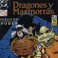 Cómics: DRAGONES Y MAZMORRAS - Nº 6 - ED. ZINCO 1990. Lote 171407792