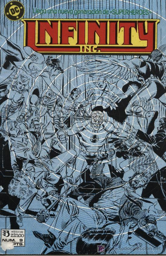 INFINITY - Nº 9 - ED. ZINCO 1986 (Tebeos y Comics - Zinco - Infinity Inc)